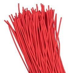 Термоусаживаемая трубка ТУТ нг 2/1 красная в отрезках по 1м EKF PROxima