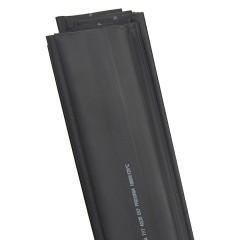 Термоусаживаемая трубка ТУТ нг 20/10 черная в отрезках по 1м EKF PROxima