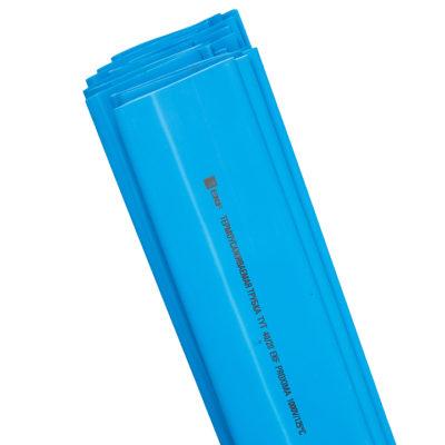 Термоусаживаемая трубка ТУТ нг 30/15 синяя в отрезках по 1м EKF PROxima; tut-30-g-1m