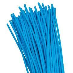 Термоусаживаемая трубка ТУТ нг 4/2 синяя в отрезках по 1м EKF PROxima