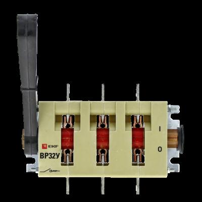 Выключатель-разъединитель ВР32У-31А31220 100А 1 направ. с д/г камерами несъемная левая/правая рукоятка MAXima EKF PROxima; uvr32-31a31220