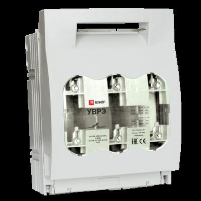 Выключатель-разъединитель УВРЭ 160А откидного типа под предохранители ППН (габ.00) EKF PROxima; uvre-160