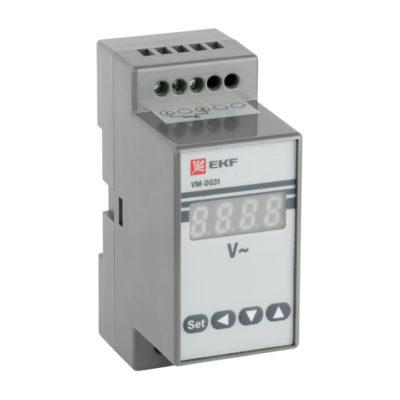 VD-G31 Вольтметр цифровой на DIN однофазный EKF PROxima; vd-g31