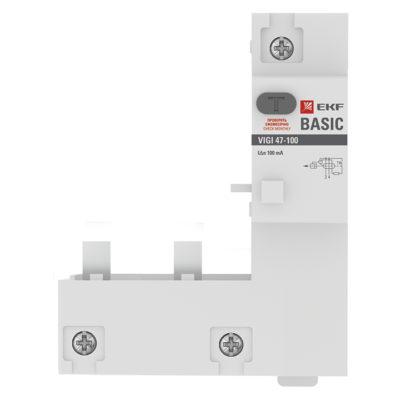 Блок дифференциальной защиты VIGI 47-100 2P 100А 100мА Basic
