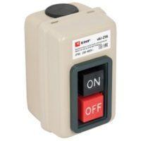 Выключатель кнопочный с блокировкой ВКИ-216 10А 3P IP40  EKF PROxima