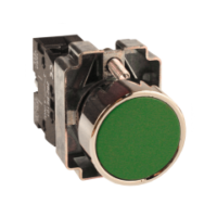 Кнопка BA31 зеленая NO EKF PROxima