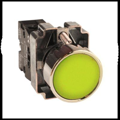 Кнопка BA51 желтая NO EKF PROxima; xb2-ba51