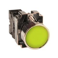 Кнопка BA51 желтая NO EKF PROxima