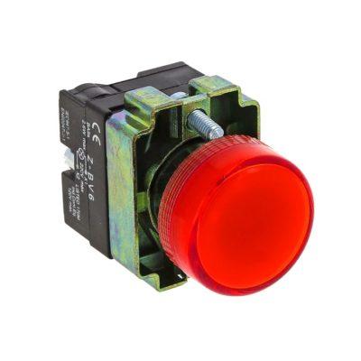 Лампа сигнальная BV64 красная EKF 24В EKF PROxima; xb2-bv64-24