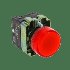 Лампа сигнальная BV64 красная EKF PROxima