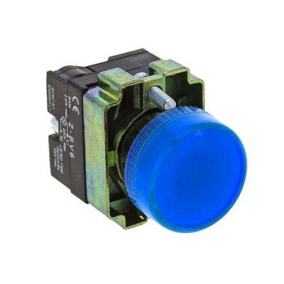 Лампа сигнальная BV66 синяя EKF 24В EKF PROxima; xb2-bv66-24
