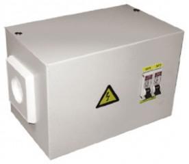 Ящик с понижающим трансформатором ЯТП 0,25кВА 220/12В EKF Basic